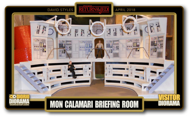 VISITORS DIORAMA • STYLES • MON CALAMARI BRIEFING ROOM
