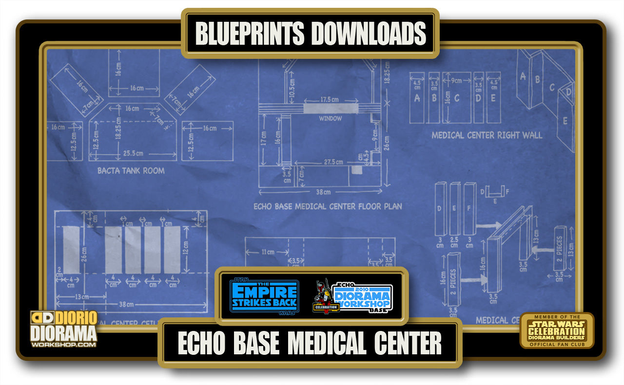 TUTORIALS • BLUEPRINTS • ECHO BASE MEDICAL CENTER
