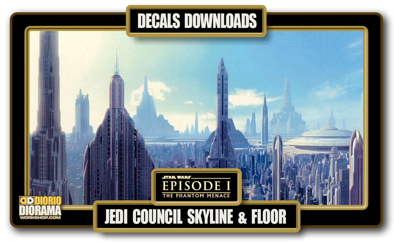TUTORIALS • DECALS • JEDI HIGH COUNCIL