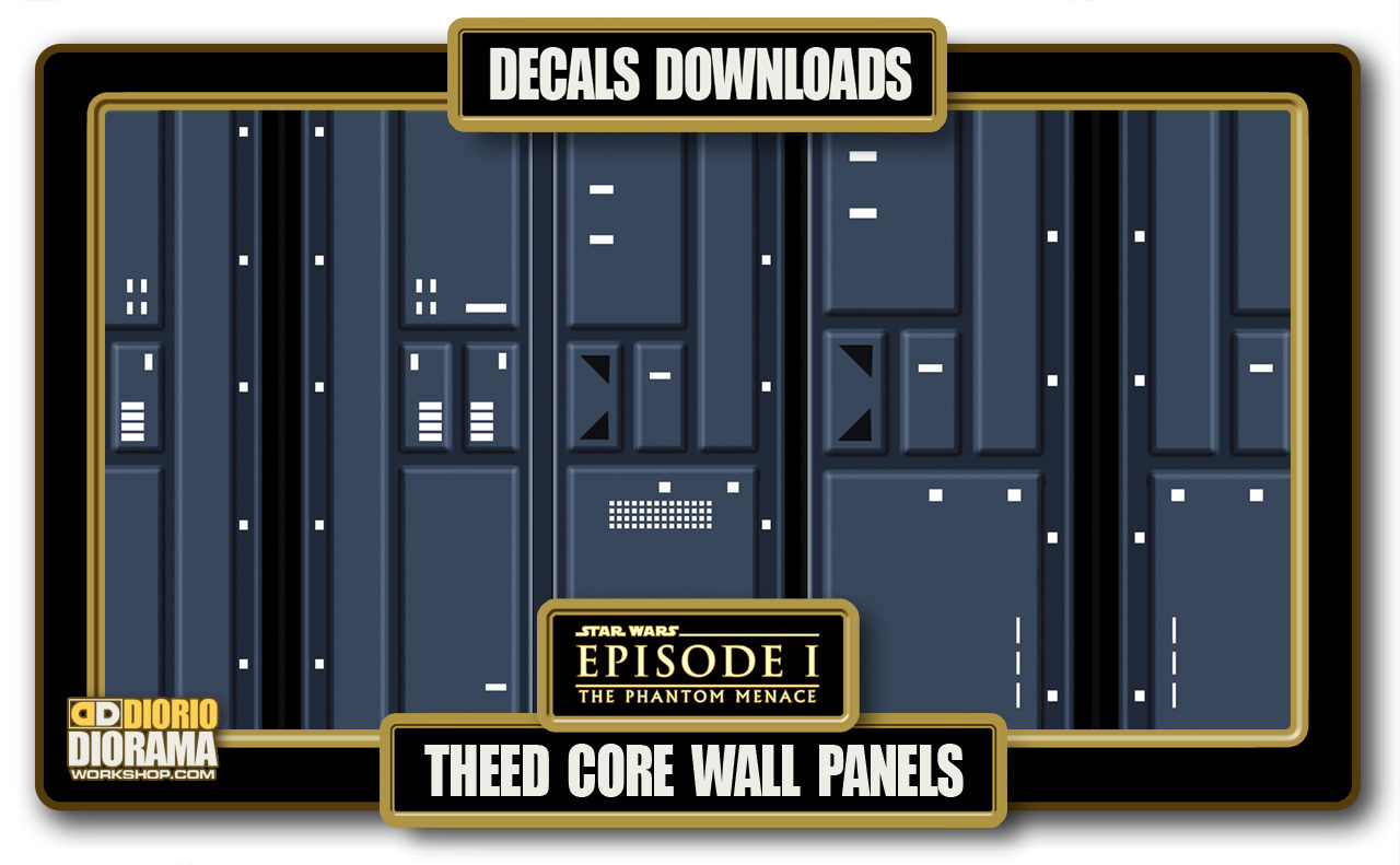 TUTORIALS • DECALS • THEED CORE WALL PANELS