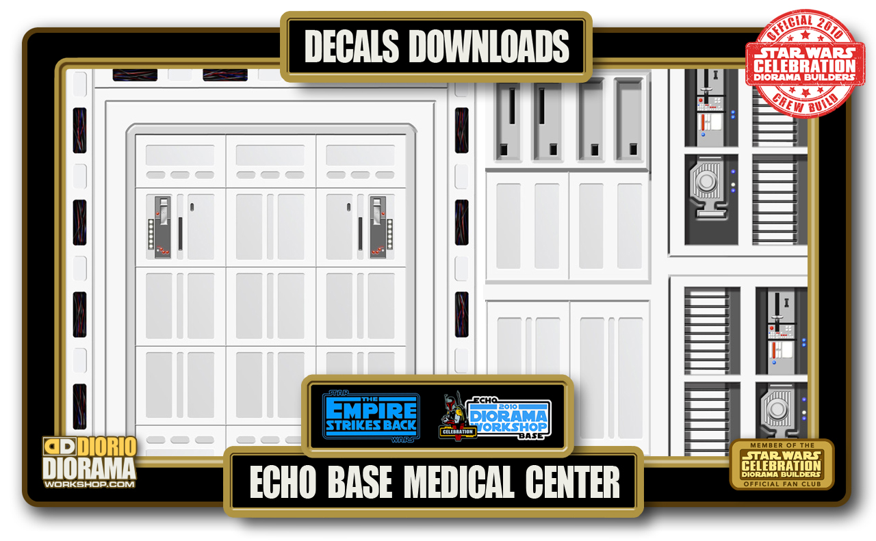 TUTORIALS • DECALS • ECHO BASE MEDICAL CENTER