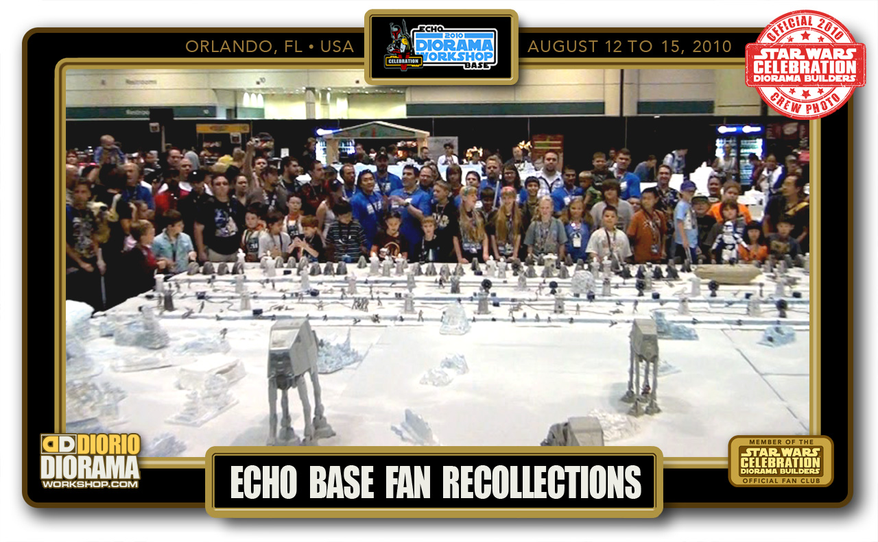 CONVENTIONS • C5 POST PRODUCTION • ECHO BASE FAN RECOLLECTIONS