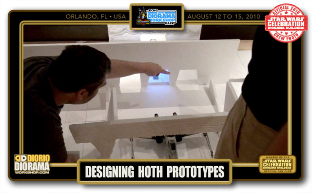 CONVENTIONS • C5 PRE PRODUCTION • DESIGNING HOTH PROTOTYPES