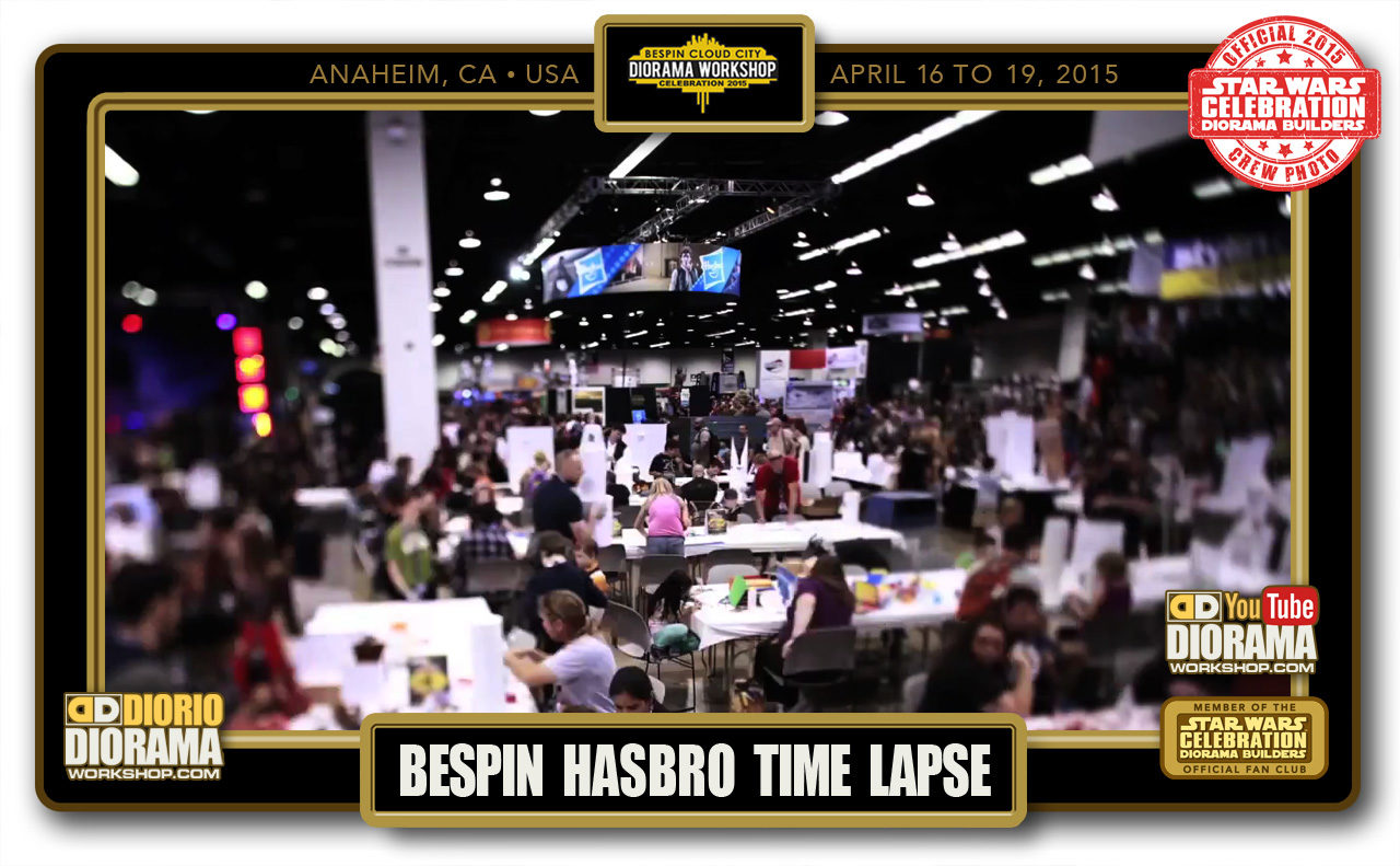CONVENTIONS • C7 POST PRODUCTION • BESPIN HASBRO TIME LAPSE