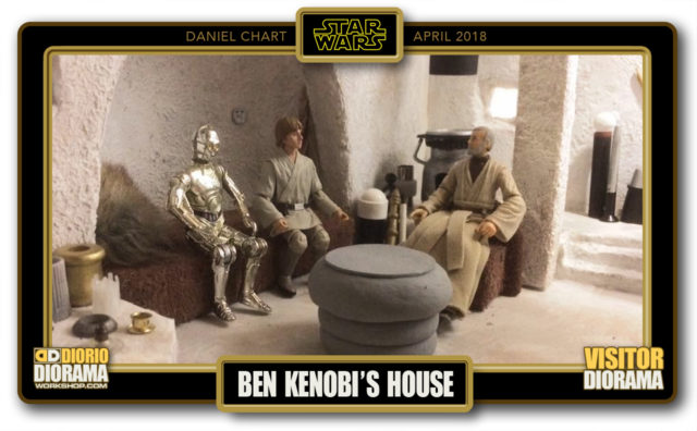 VISITORS HD DIORAMA • CHART • BEN KENOBI HOUSE