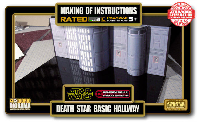 TUTORIALS • MAKING OF • DEATH STAR BASIC HALLWAY