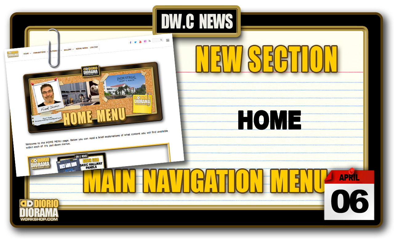 NEW SECTION : HOME