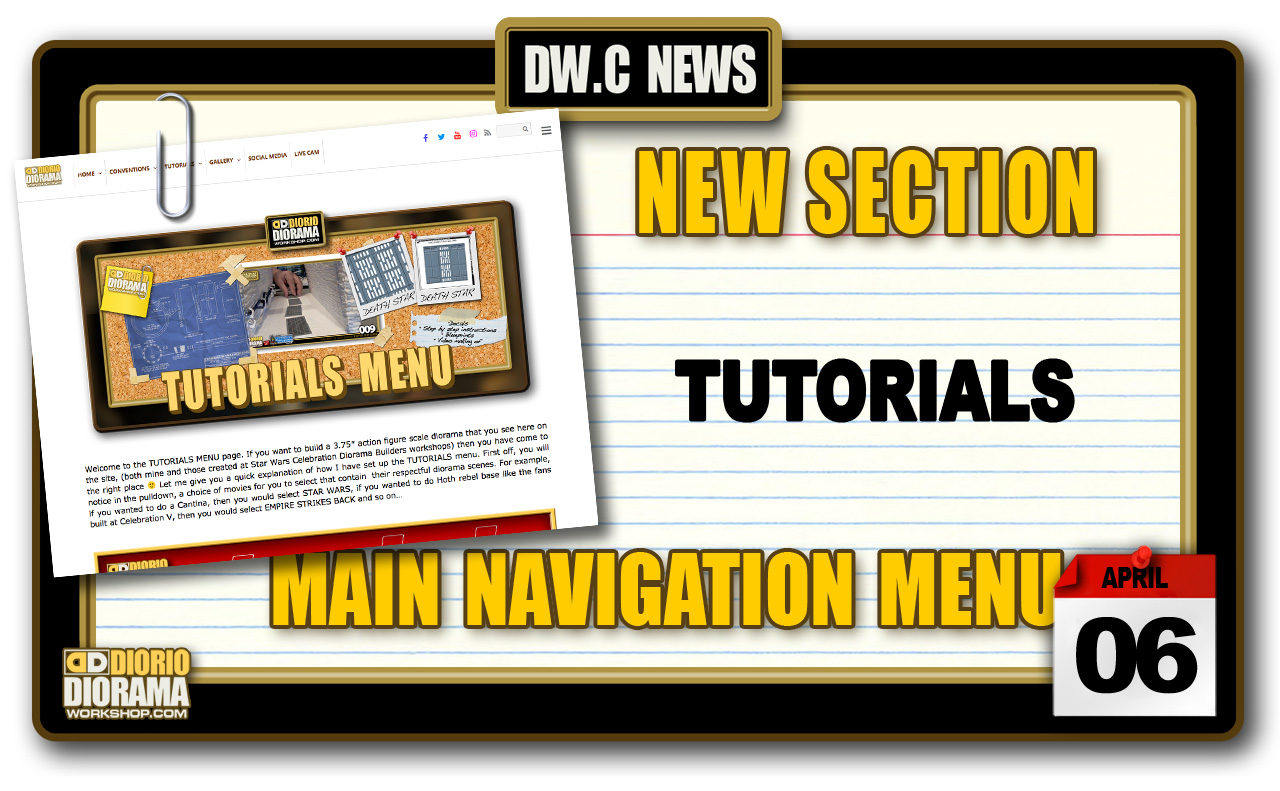 NEW SECTION : TUTORIALS
