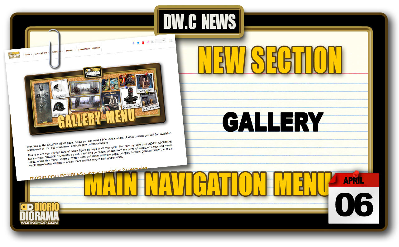 NEW SECTION : GALLERY