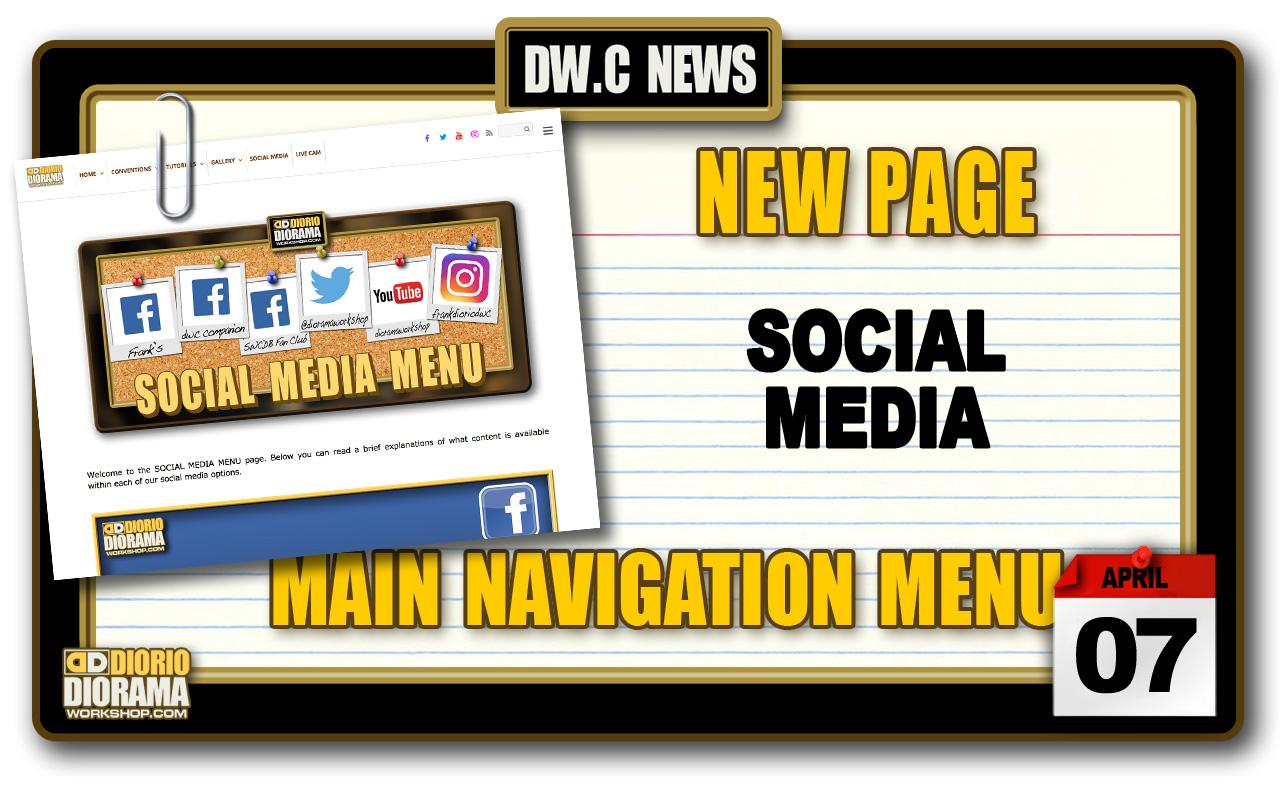 NEW SECTION : SOCIAL MEDIA