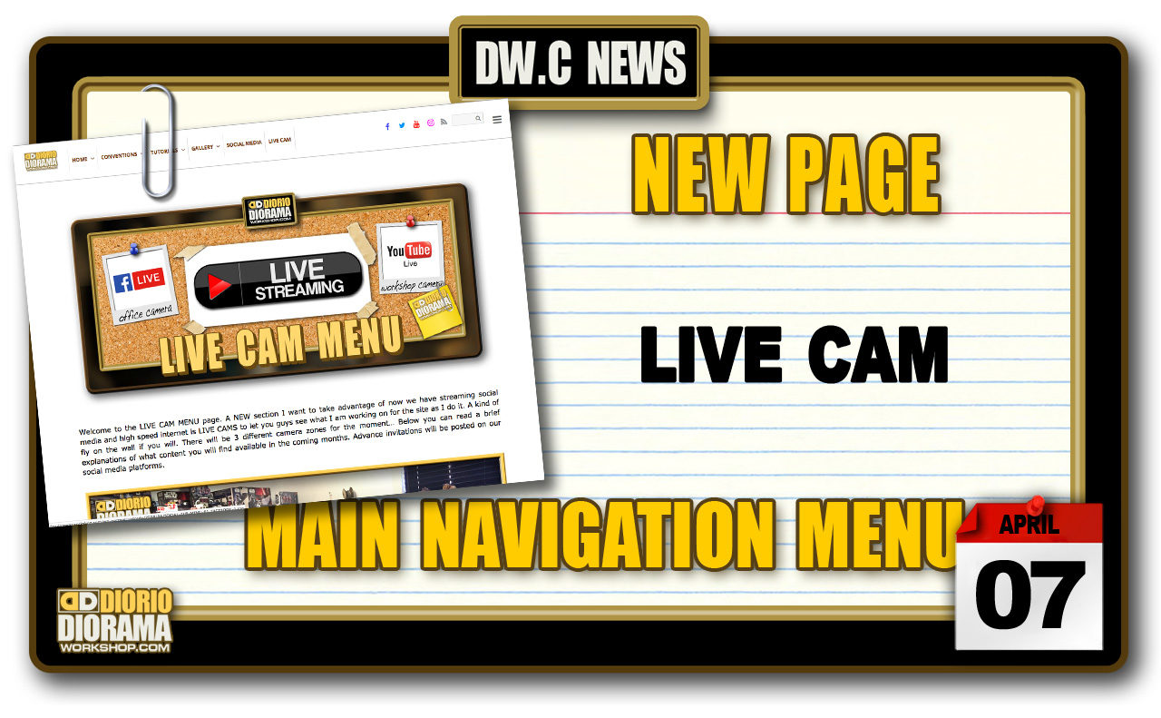 NEW SECTION : LIVE CAM