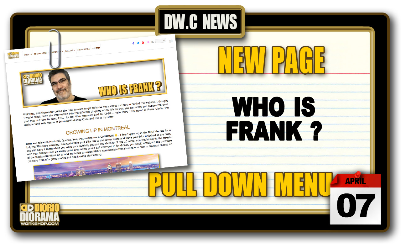 NEW PAGE : WHO IS FRANK ?