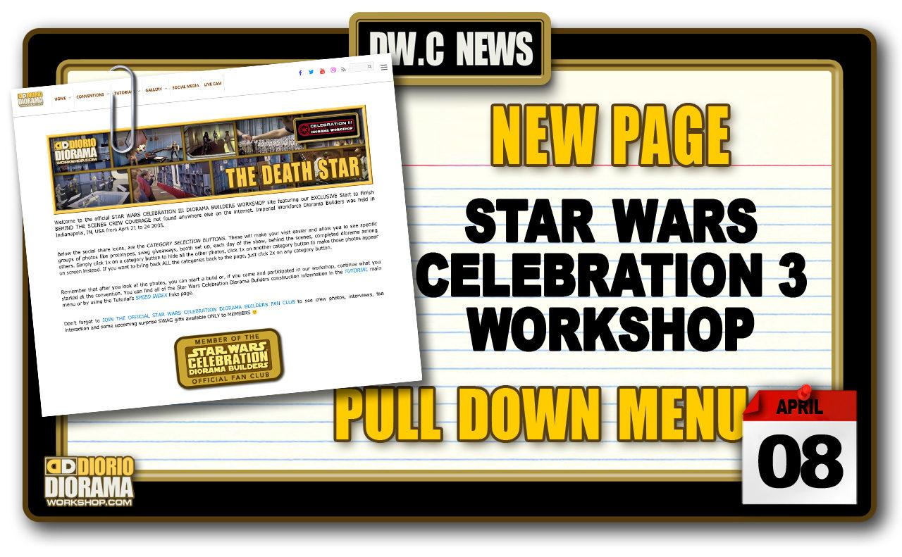 NEW PAGE : STAR WARS CELEBRATION 3