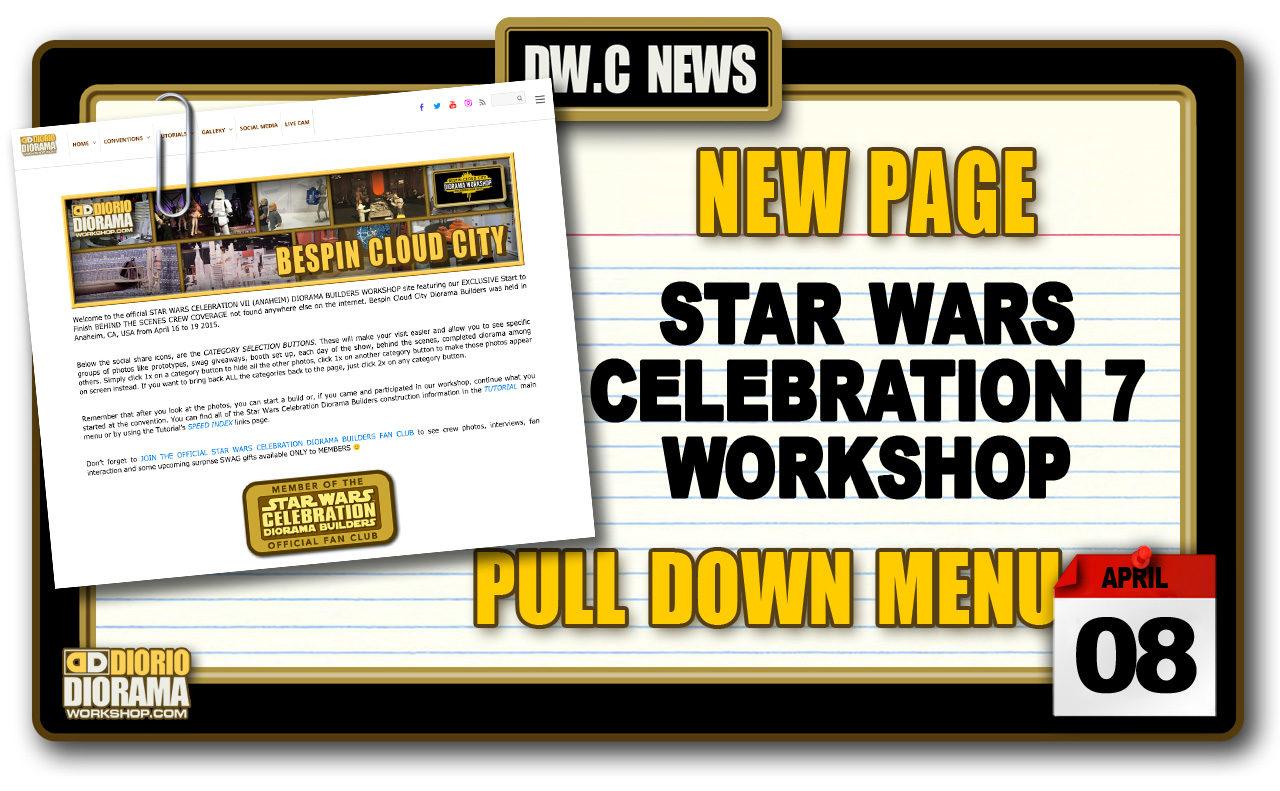 NEW PAGE : STAR WARS CELEBRATION 7 ANAHEIM