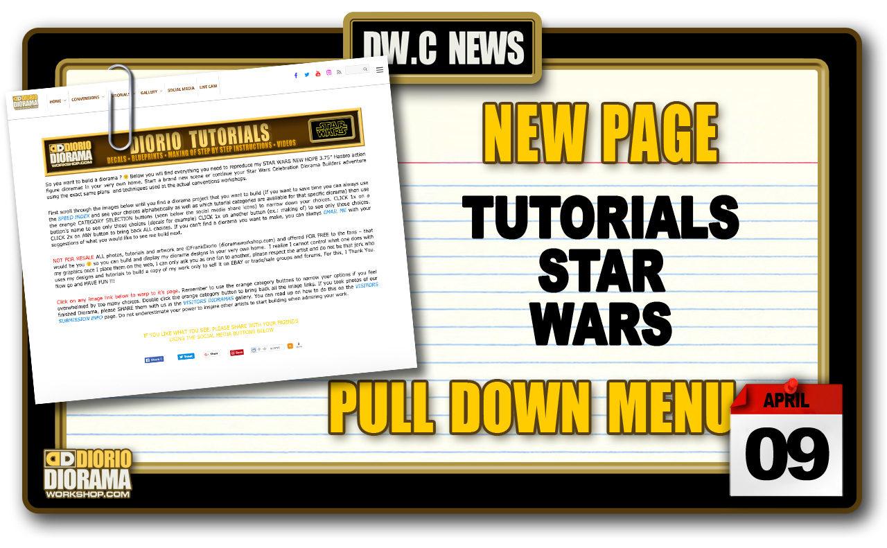 NEW PAGE : TUTORIALS STAR WARS