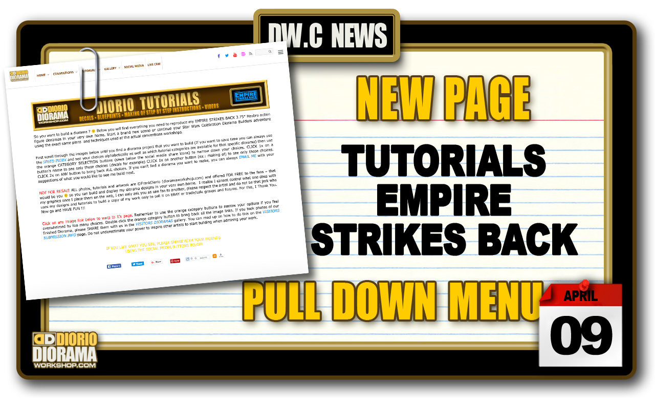 NEW PAGE : TUTORIALS EMPIRE STRIKES BACK