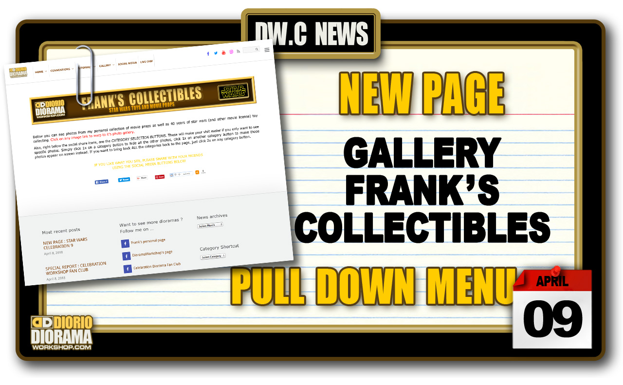 NEW PAGE : GALLERY DIORIO COLLECTIBLES