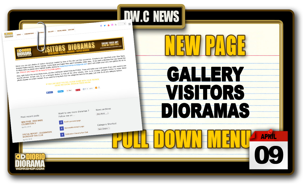 NEW PAGE : GALLERY VISITORS DIORAMAS