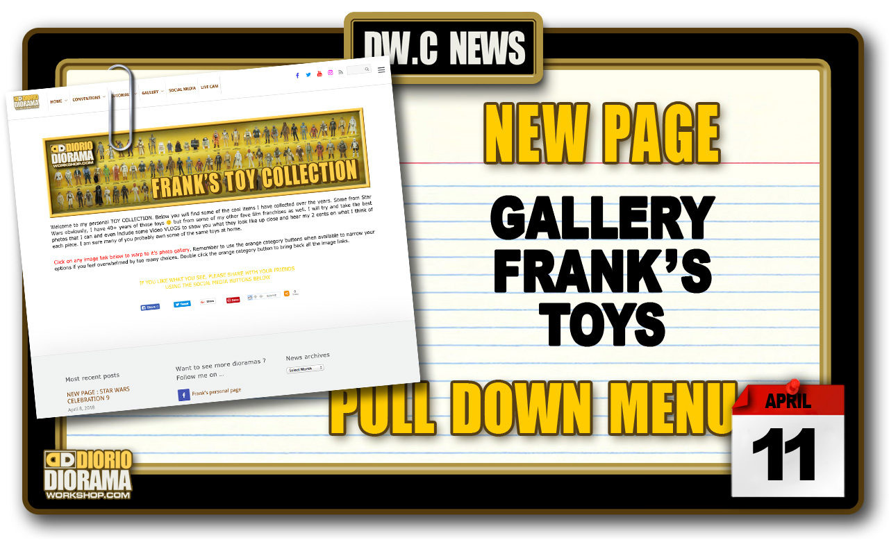 NEW PAGE : GALLERY FRANK'S TOY COLLECTION