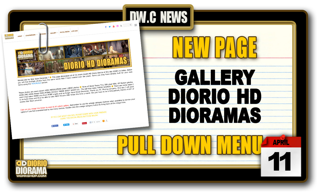 NEW PAGE : GALLERY DIORIO HD DIORAMAS
