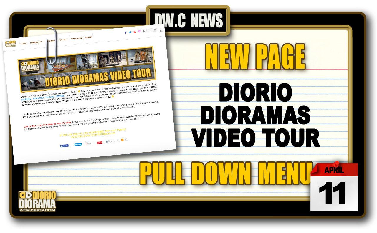 NEW PAGE : GALLERY DIORIO DIORAMAS VIDEO TOUR