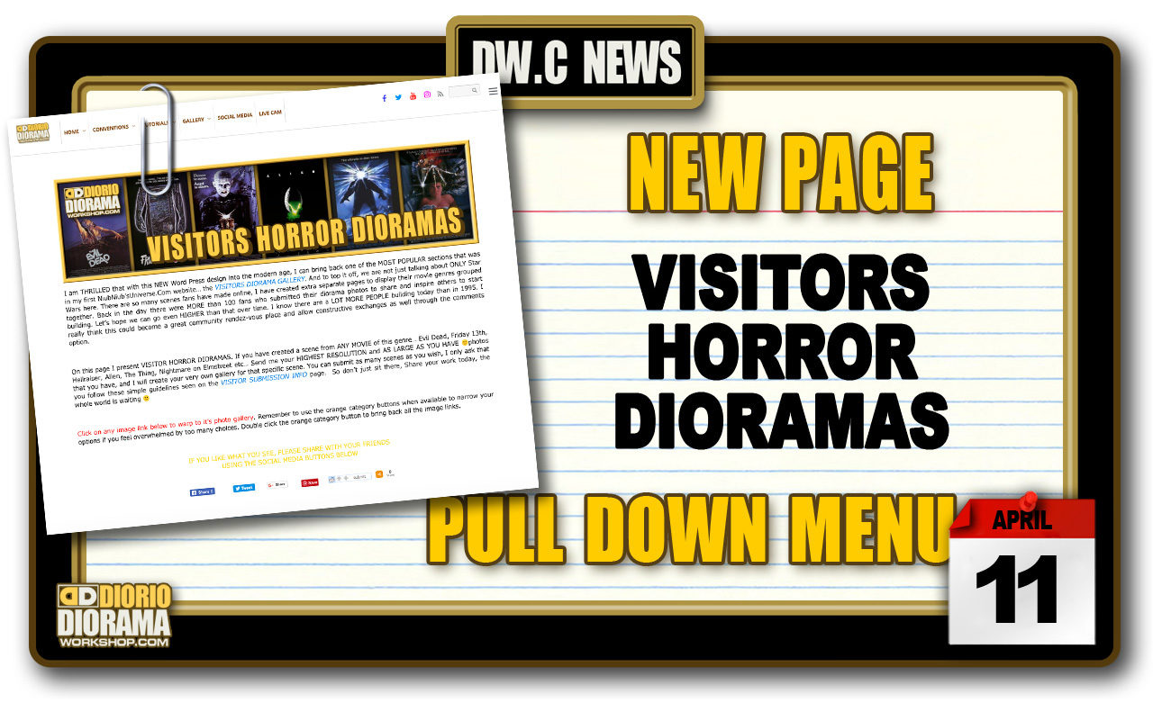 NEW PAGE : GALLERY VISITORS HORROR DIORAMAS