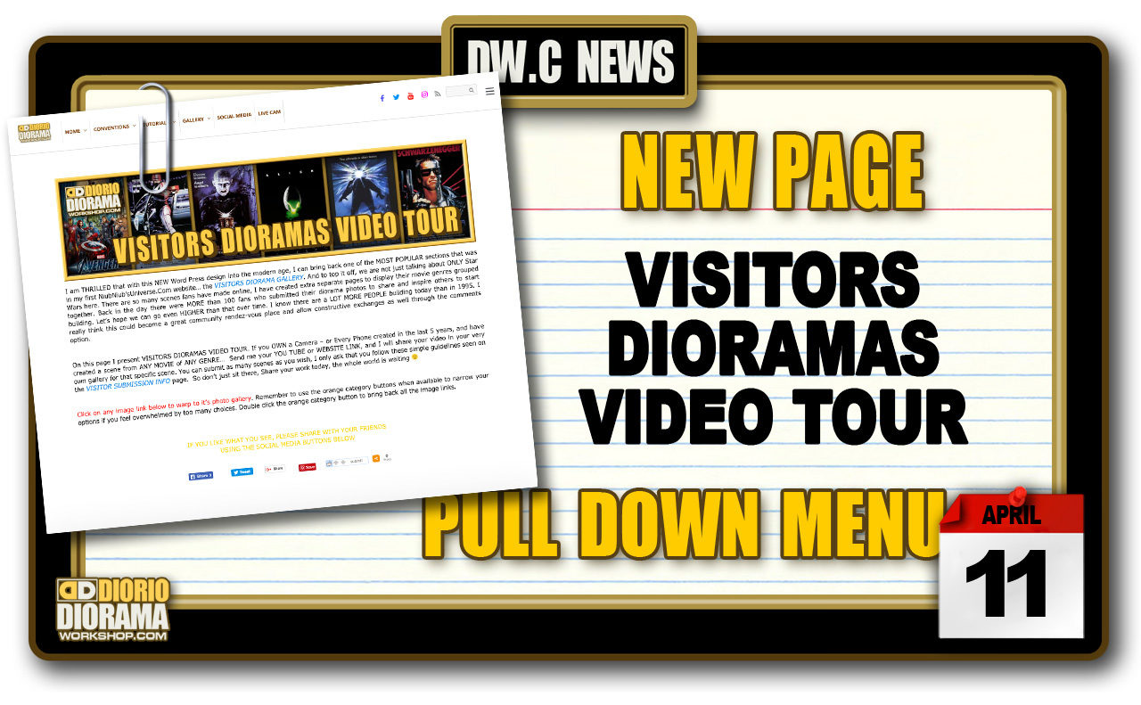 NEW PAGE : GALLERY VISITORS DIORAMAS VIDEO TOUR