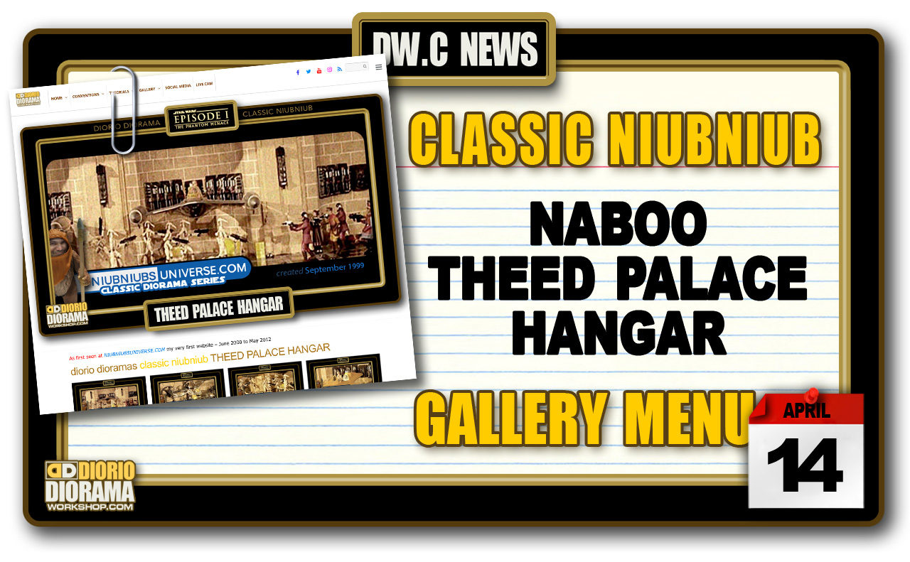 NEW CLASSIC NIUBNIUB • THEED PALACE HANGAR