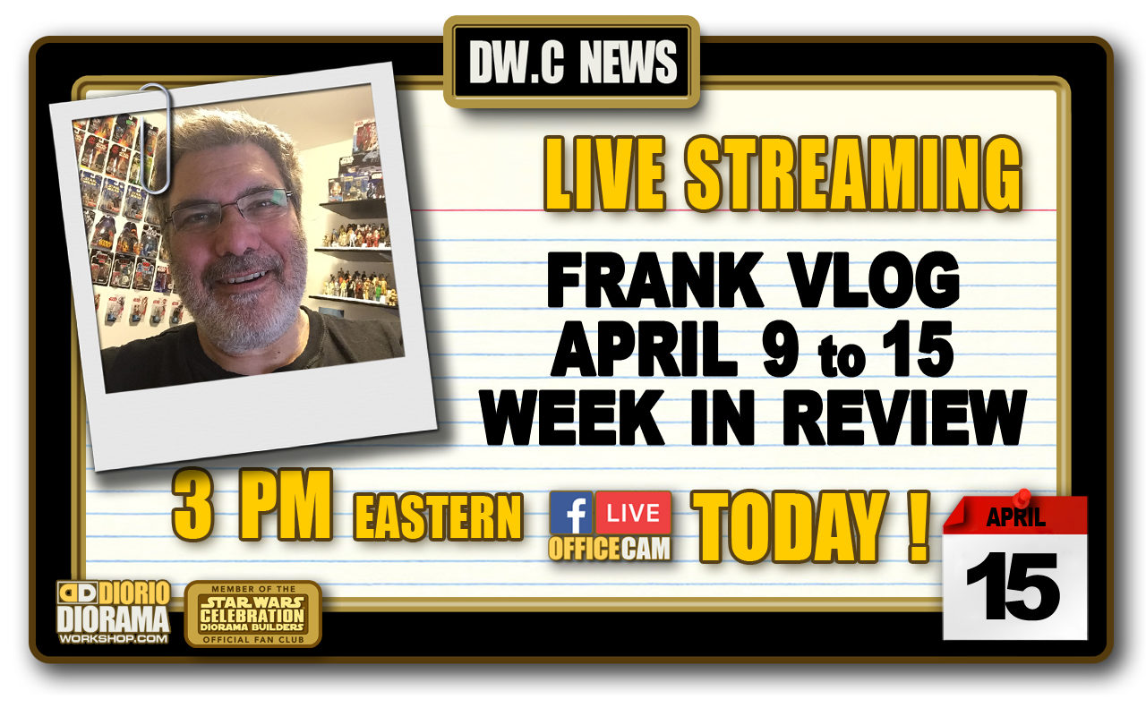 NEW OFFICE CAM : WEEK IN REVIEW APRIL 9 TO 15