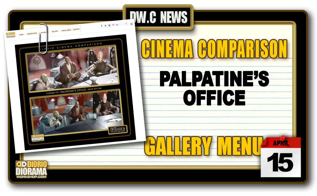 NEW CINEMA COMPARISONS • PALPATINE'S OFFICE