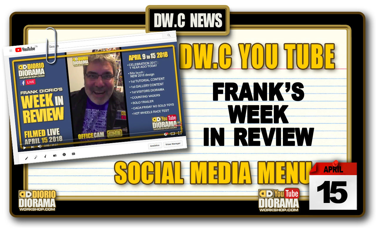 NEW YOU TUBE • FRANK'S WEEK IN REVIEW 001