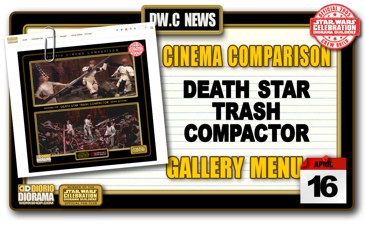 NEW CINEMA COMPARISONS • DEATH STAR TRASH COMPACTOR