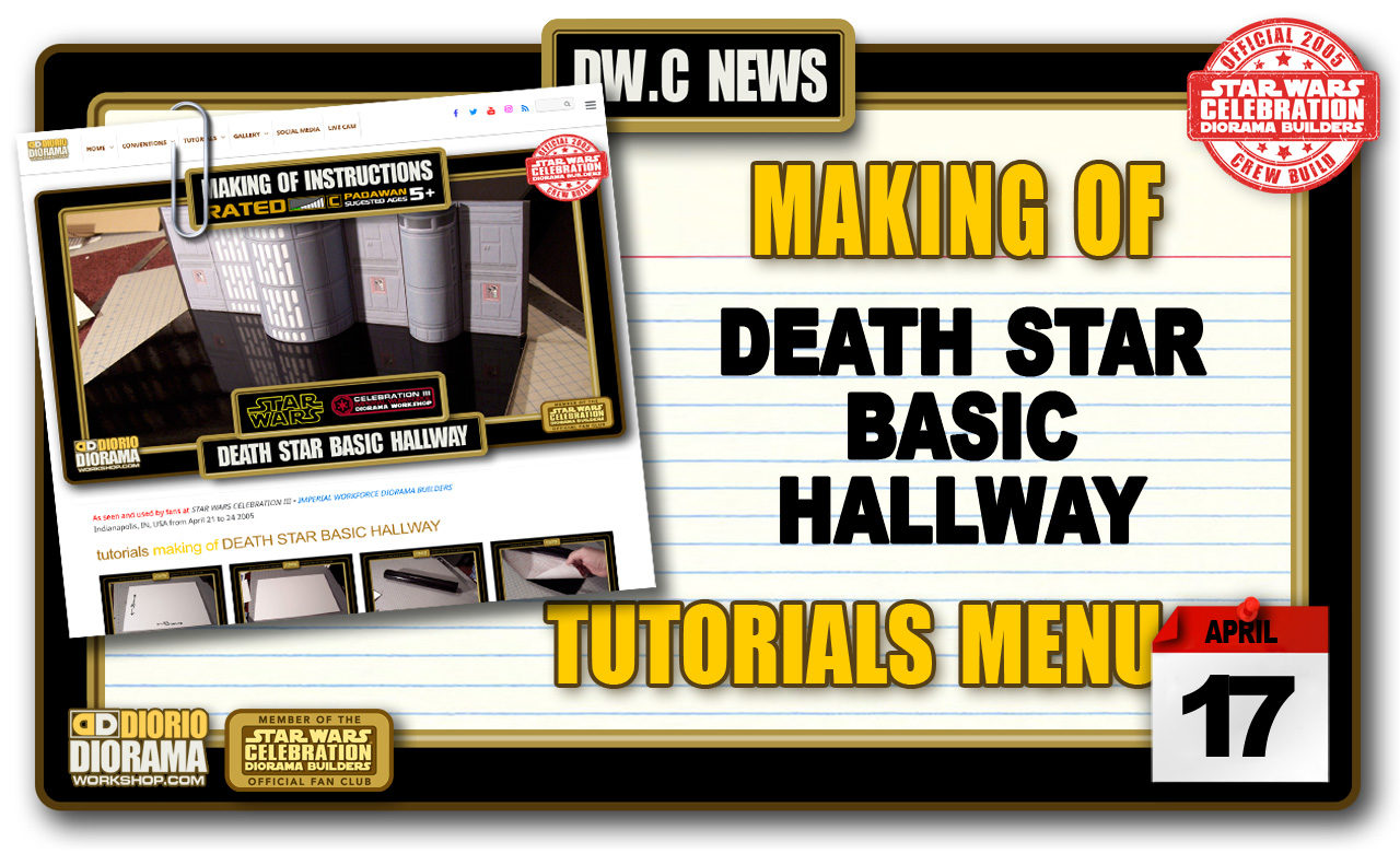 NEW MAKING OF • DEATH STAR BASIC HALLWAY