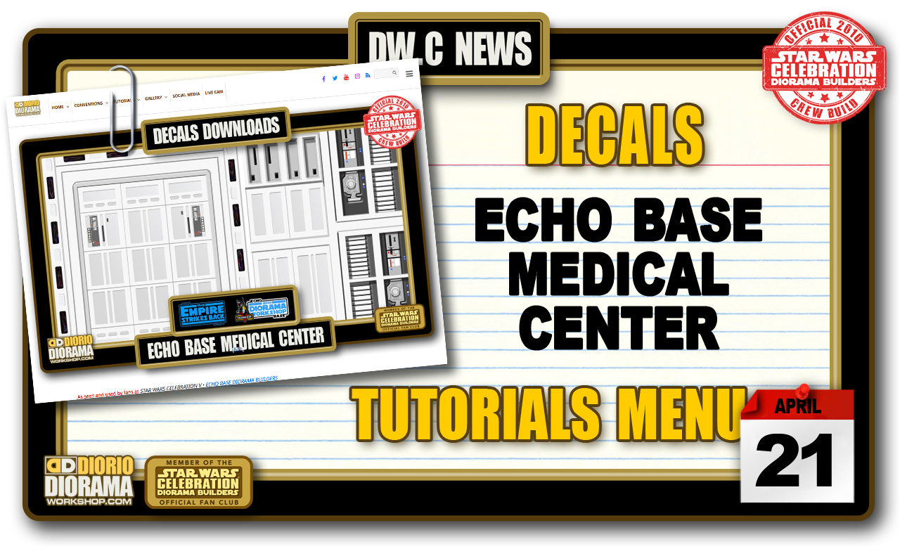 NEW DECALS • ECHO BASE MEDICAL CENTER