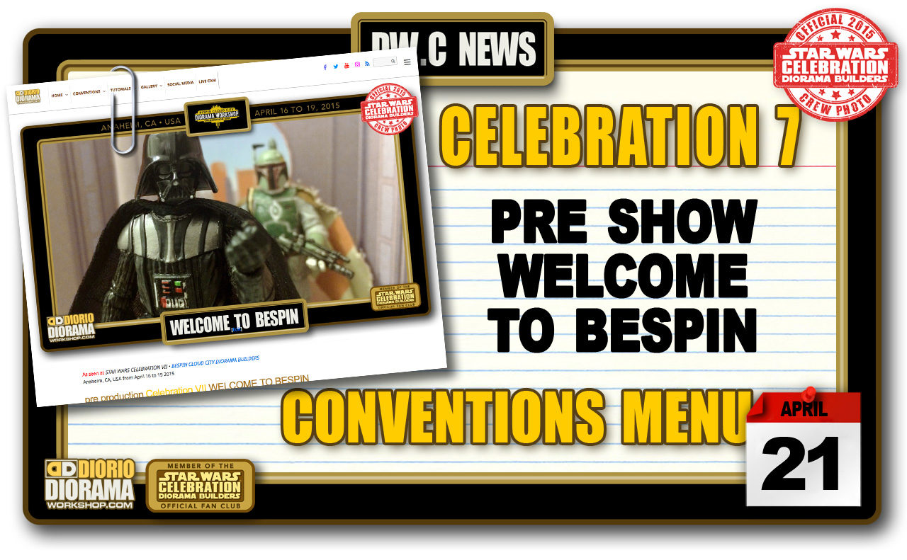 NEW PHOTOS : CELEBRATION VII • WELCOME TO BESPIN
