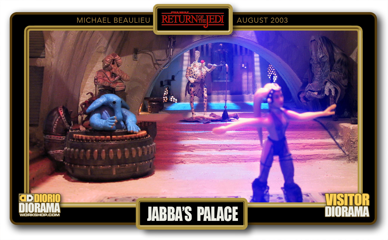 VISITORS DIORAMA • BEAULIEU • JABBA'S PALACE