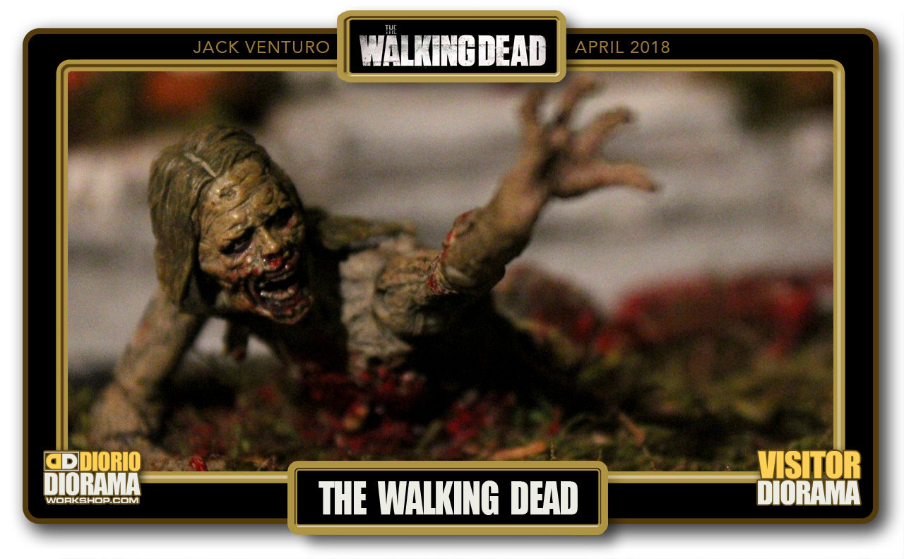 VISITORS DIORAMA • VENTURO • THE WALKING DEAD