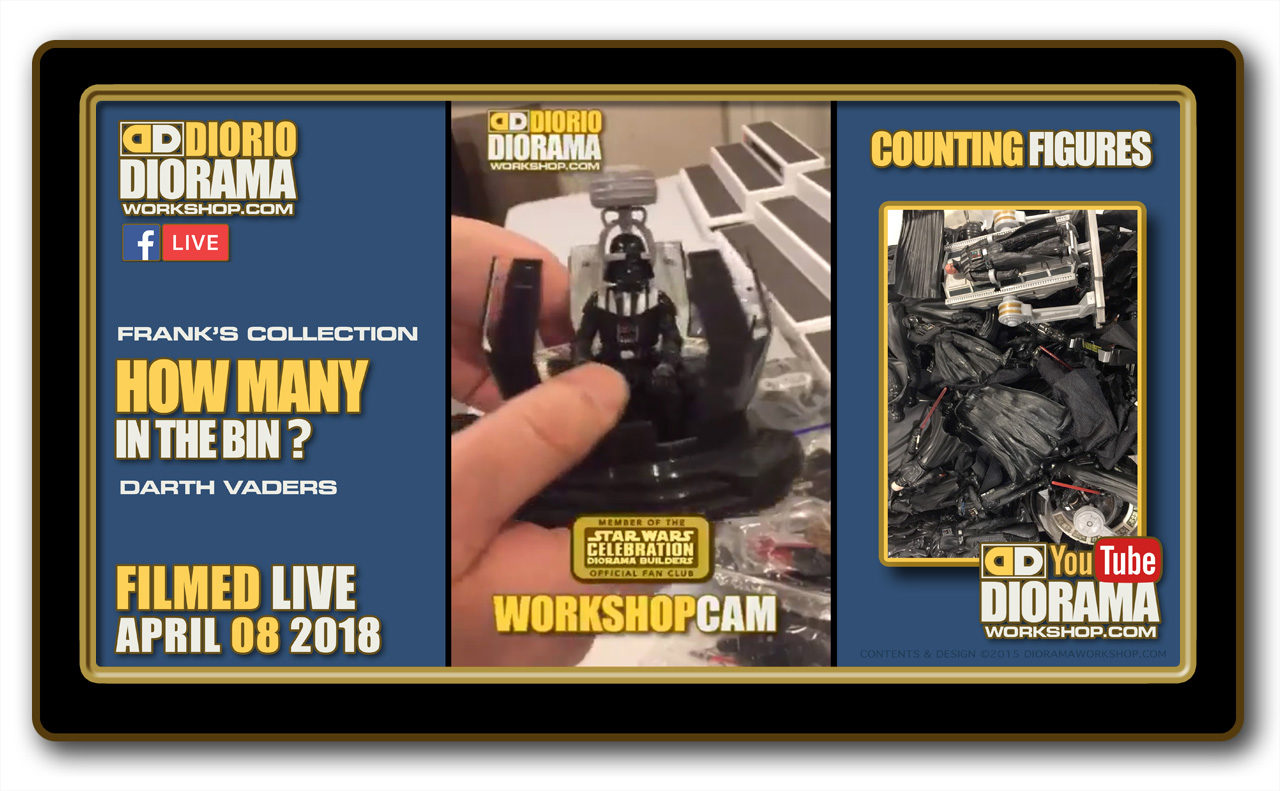 WORKSHOP CAM • HOW MANY FIGURES ? • COUNTING DARTH VADER