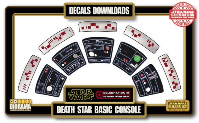 TUTORIALS • DECALS • DEATH STAR BASIC CONSOLE