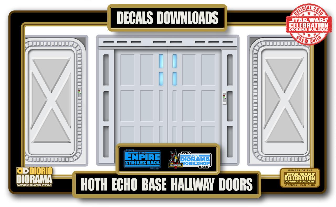 TUTORIALS • DECALS • ECHO BASE HALLWAY DOORS