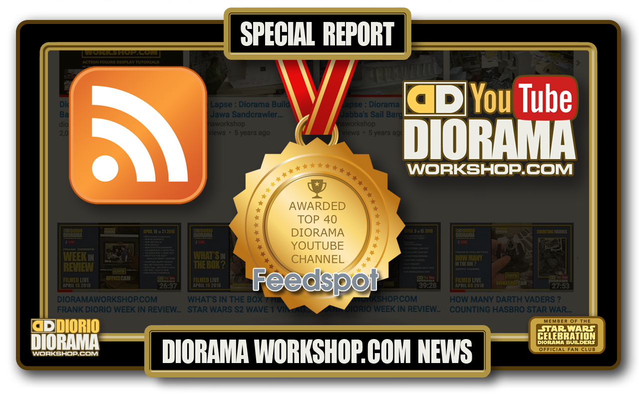 SPECIAL REPORT : FEEDSPOT DIORAMA WORKSHOP TOP 40 AWARD