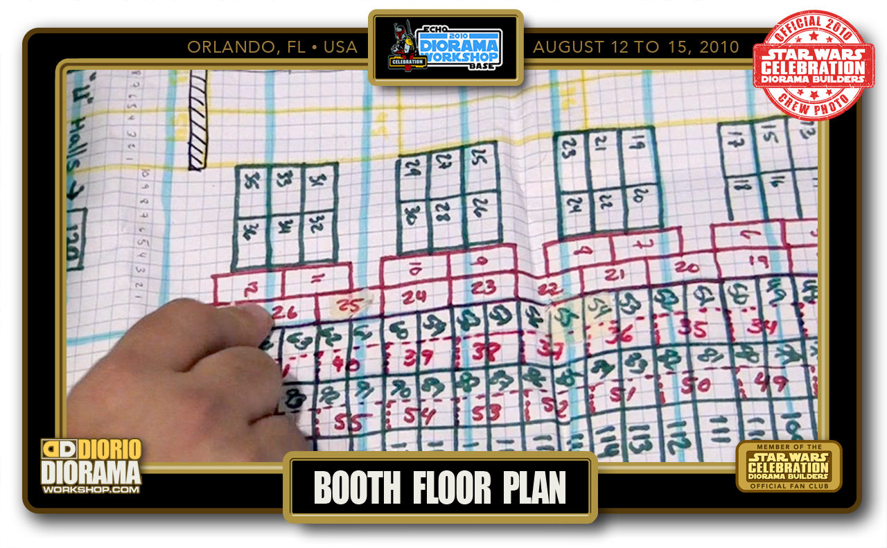 CONVENTIONS • C5 PRE PRODUCTION • BOOTH FLOOR PLAN
