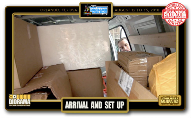 CONVENTIONS • C5 PRE PRODUCTION • TUESDAY ARRIVAL & SET UP