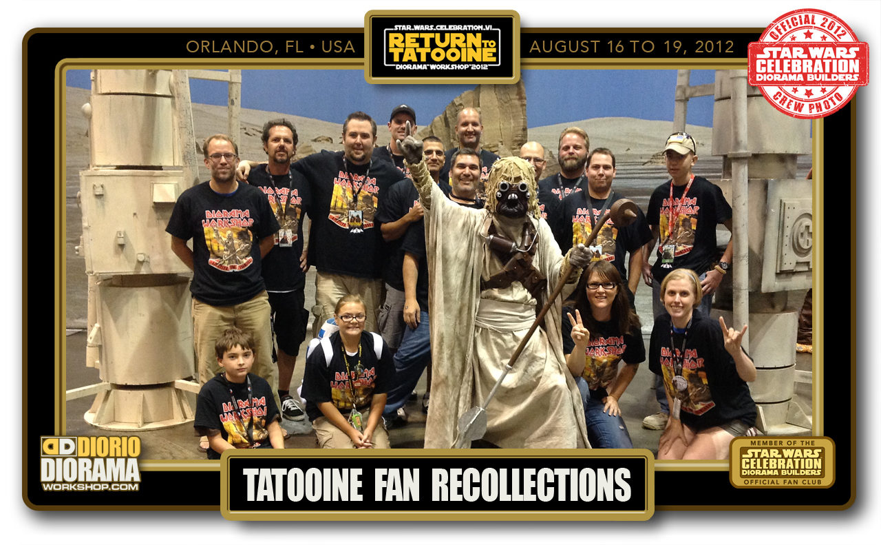 CONVENTIONS • C6 POST PRODUCTION • RETURN TO TATOOINE FAN RECOLLECTIONS