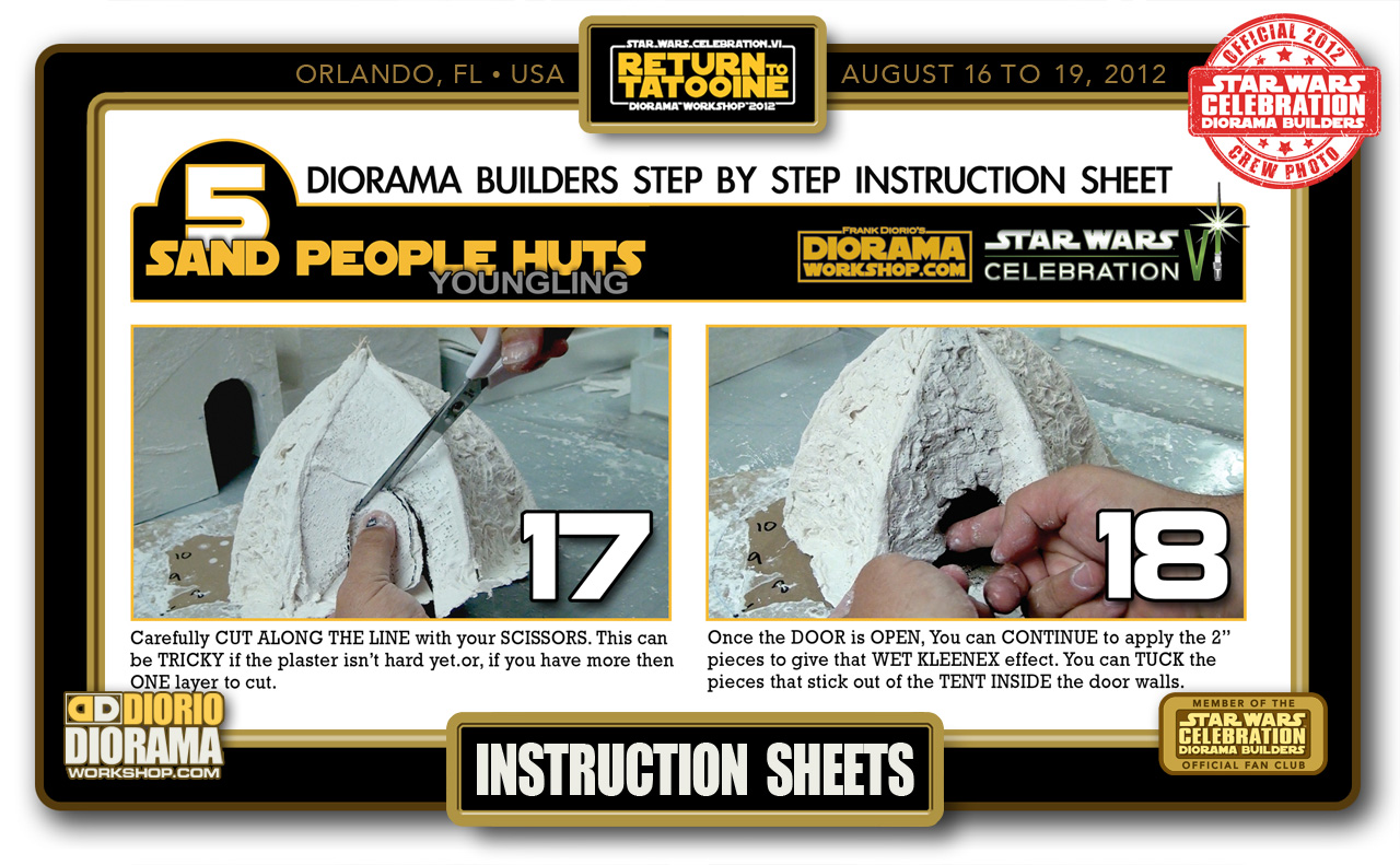 CONVENTIONS • C6 PRODUCTION • BUILDERS INSTRUCTIONS