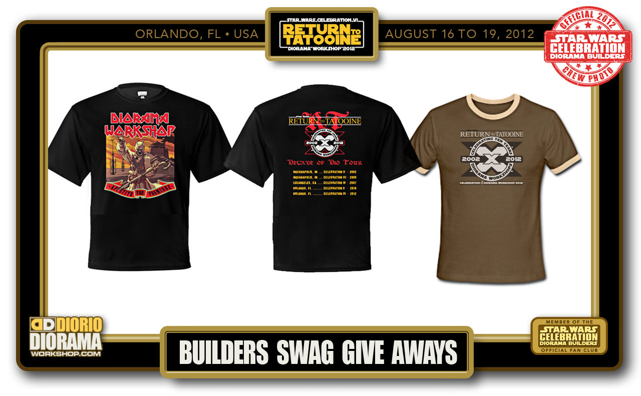 CONVENTIONS • C6 PRODUCTION • BUILDERS SWAG GIVE AWAYS