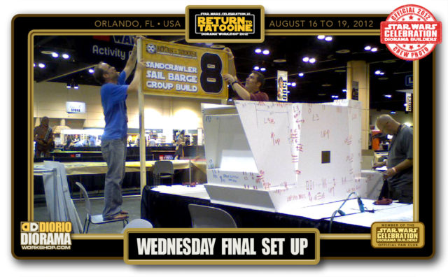 CONVENTIONS • C6 PRE PRODUCTION • WEDNESDAY FINAL SET UP