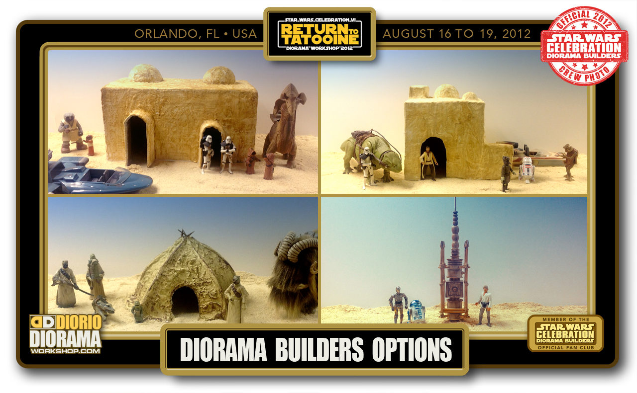 CONVENTIONS • C6 PRE PRODUCTION • DIORAMA BUILDERS OPTIONS