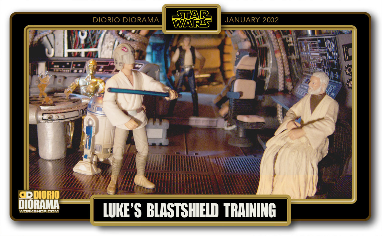 DIORIO DIORAMAS • HD FULLSCREEN • LUKE'S BLASTSHIELD TRAINING