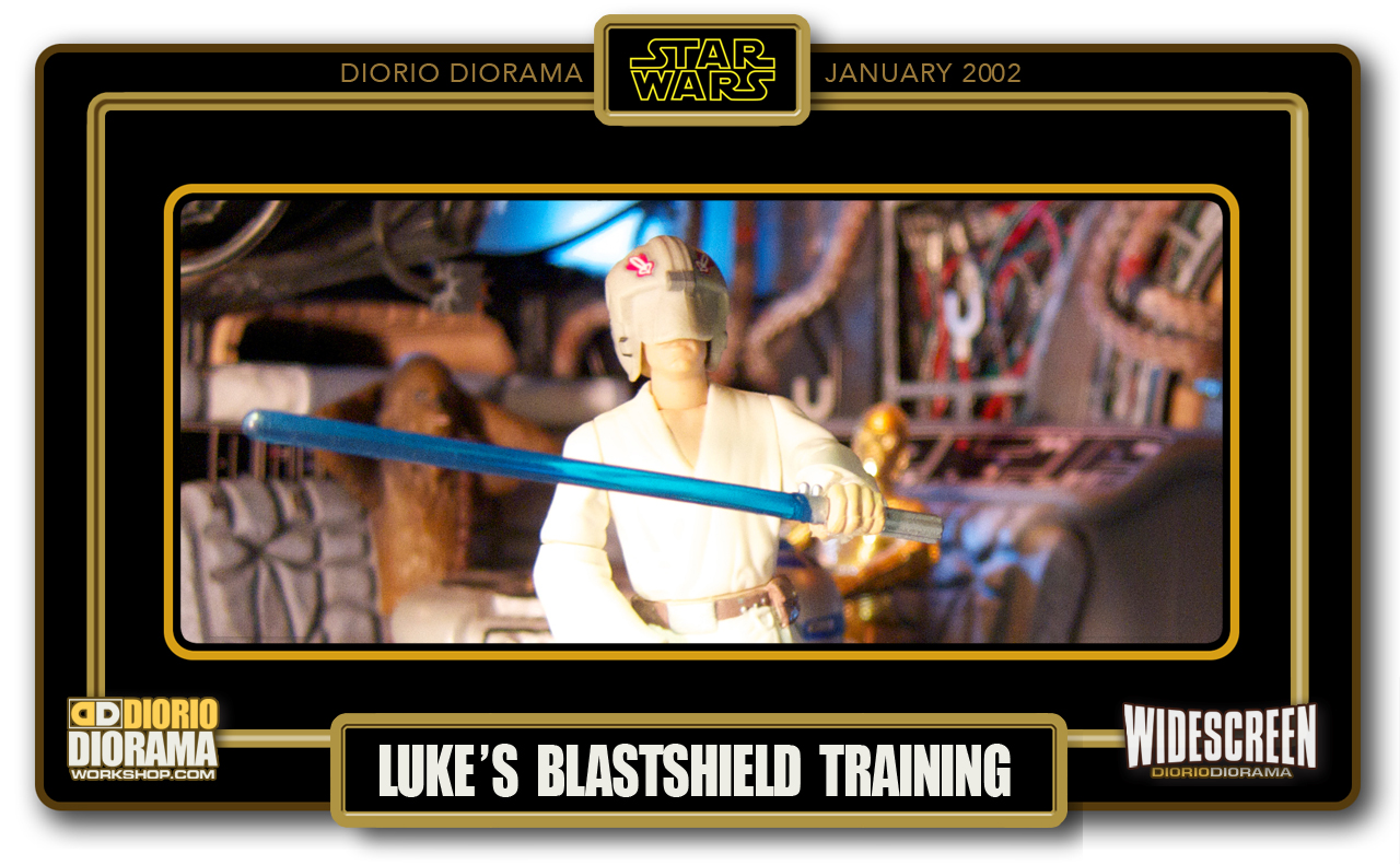 DIORIO DIORAMAS • HD WIDESCREEN • LUKE'S BLASTSHIELD TRAINING